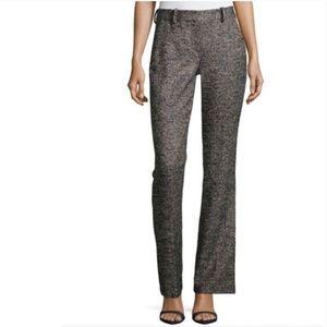 Theory  Tweed Wool High Waisted Bootcut Pants SZ10